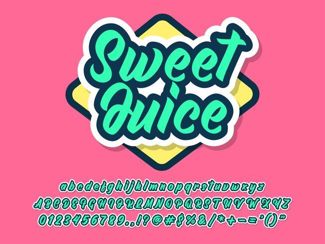 Tipografia amigável para marca e design de logotipo