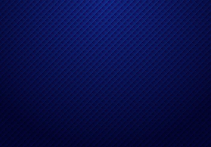 Het abstracte 3D donkerblauwe vierkantenpatroon herhaalt gestreepte achtergrond en textuur met lichte luxestijl.