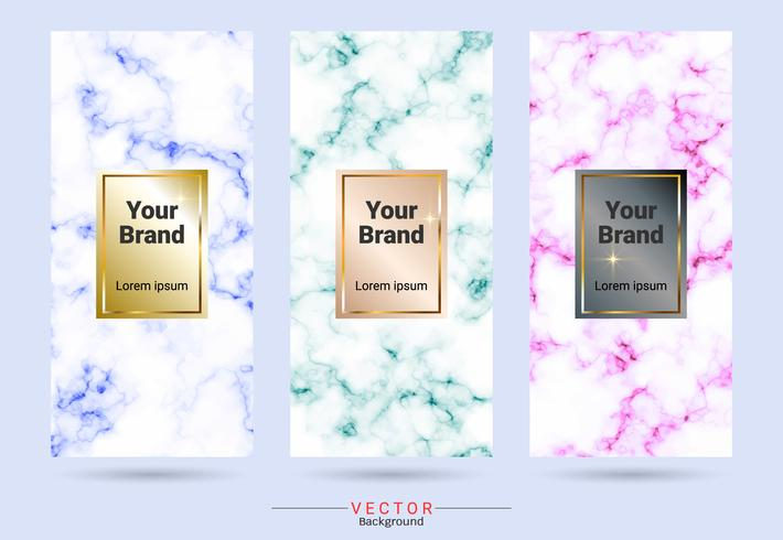 Packaging product design label and stickers templates.