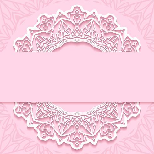 papier d'invitation de mariage coupe le design