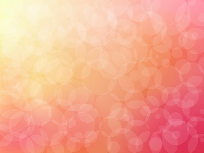 Bokeh abstrakt bakgrund på rosa vektor grafisk konst.