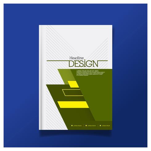 Diseño de folleto, Diseño moderno de portada, Informe anual, Folleto en A4.