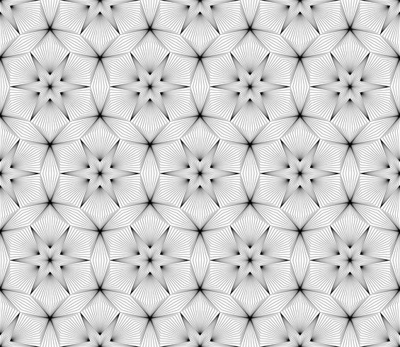 Fundo sem emenda geométrico abstrato na arte gráfica de vetor.