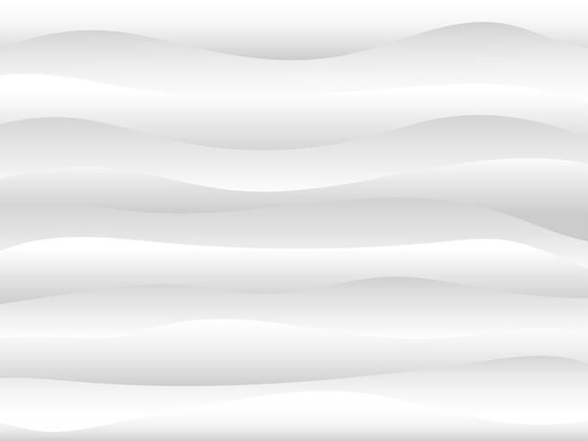 Fondo abstracto de la onda de agua blanca y gris. vector