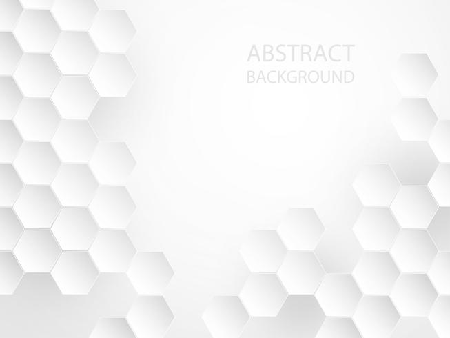 Abstract white geometric background.