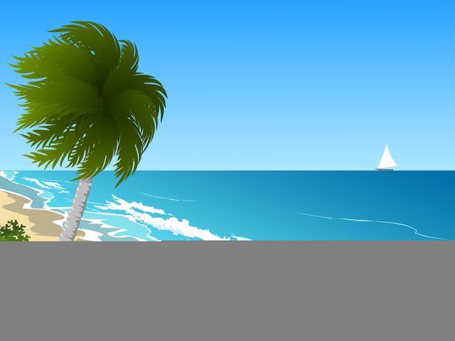 blauwe lucht zee