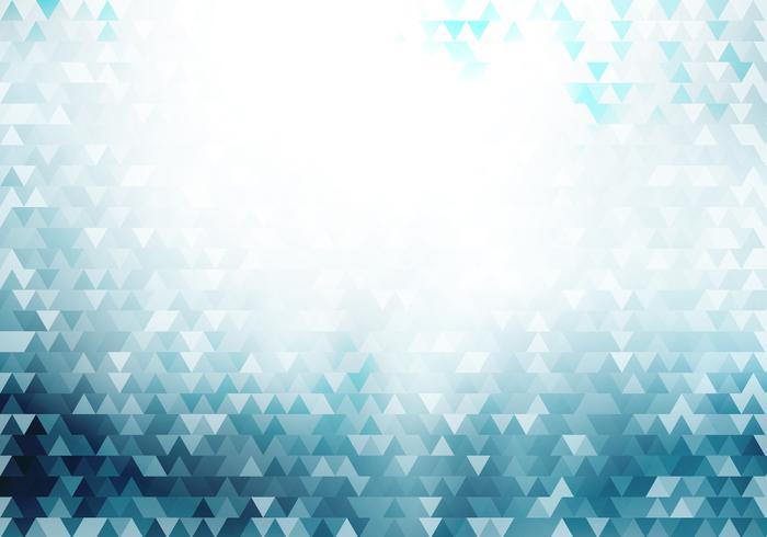I triangoli geometrici blu astratti dei pantaloni a vita bassa modellano il fondo e strutturano con effetto della luce. vettore