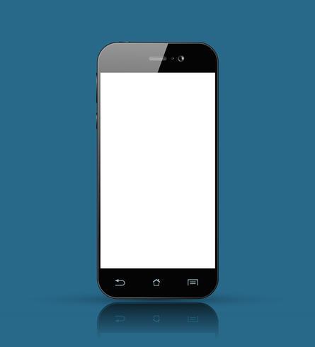 Téléphone intelligent vecteur