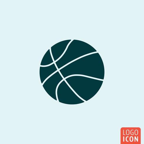 Icône boule de basketball