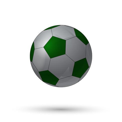 Icona del pallone da calcio vettore