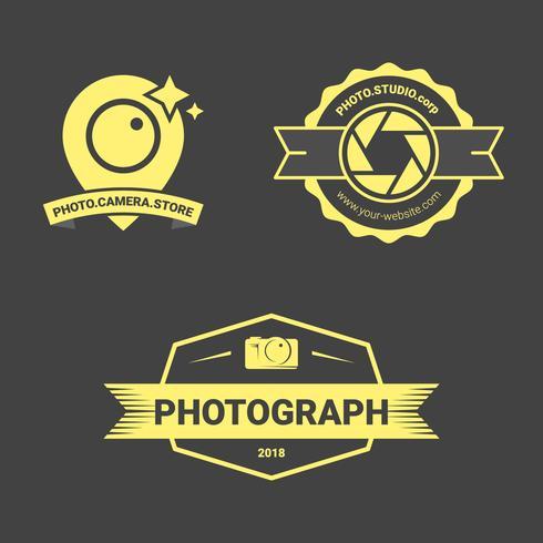 Emblema de câmera de luxo