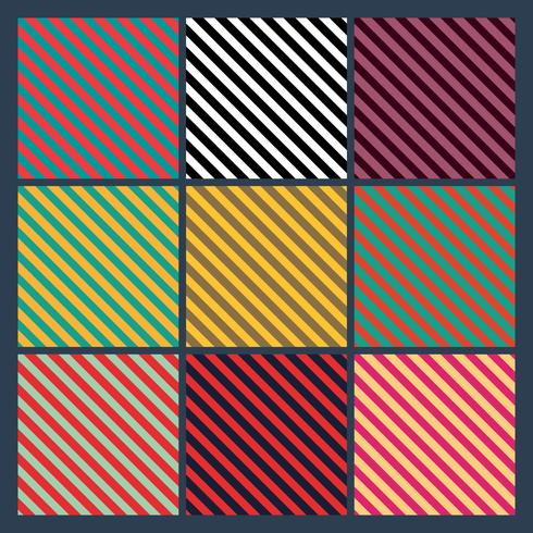 Conjunto de linhas sem costura