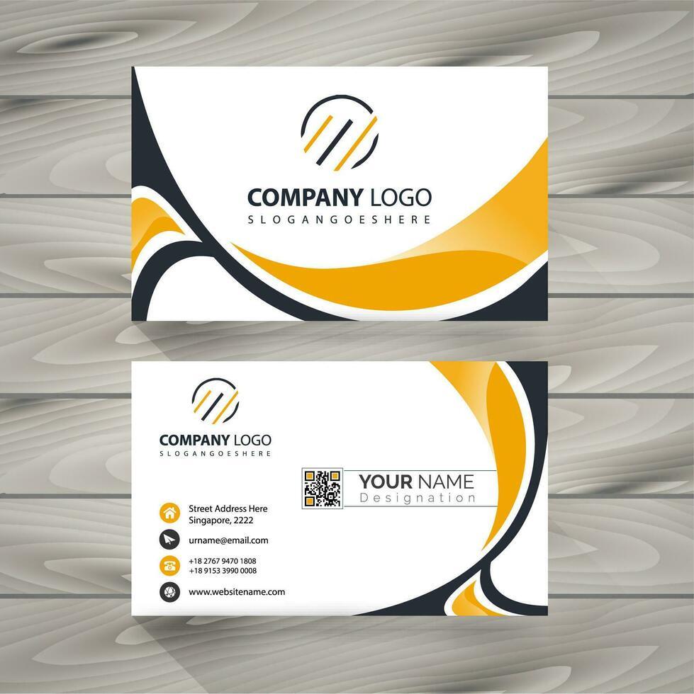 latest business card vector