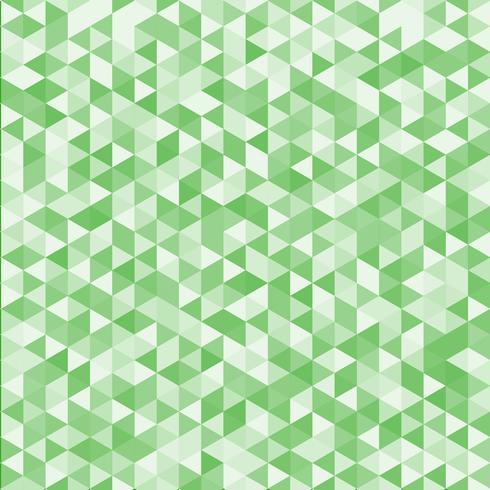 Fundo e textura geométricos listrados abstratos da cor verde do teste padrão do triângulo. vetor