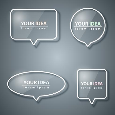 Speech bubbles icon. Dialogrutan info.