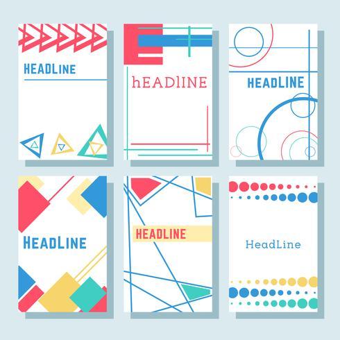 Brochures9 vector