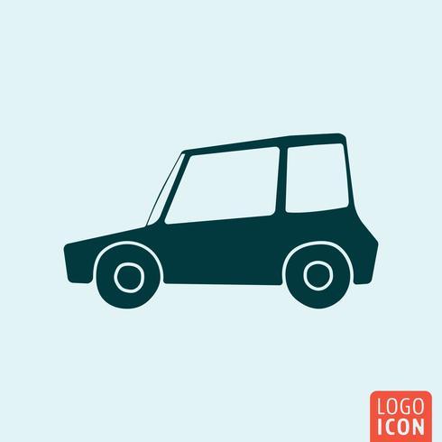 Ícone do veículo do carro vetor