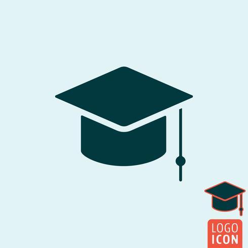 Student pictogram geïsoleerd