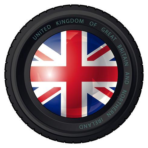 Storbritannien vektor