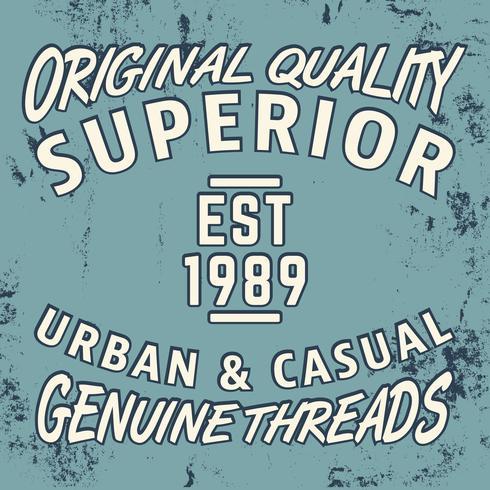 Superior vintage stamp vector