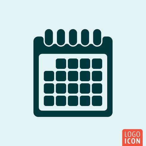 Calendar icon design vector