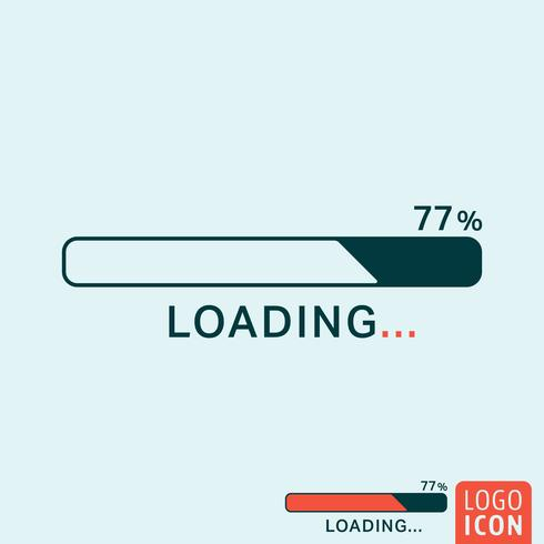 Loading bar icon