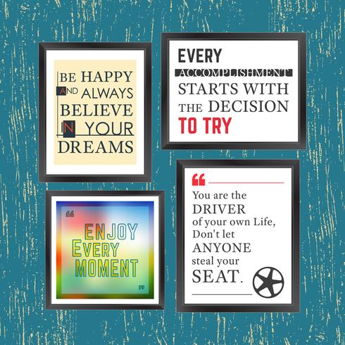 Quotes motivation frame