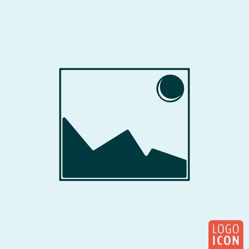 Icône d'image photo
