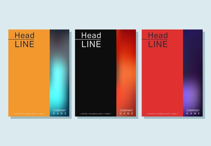Modèle de brochure de couverture
