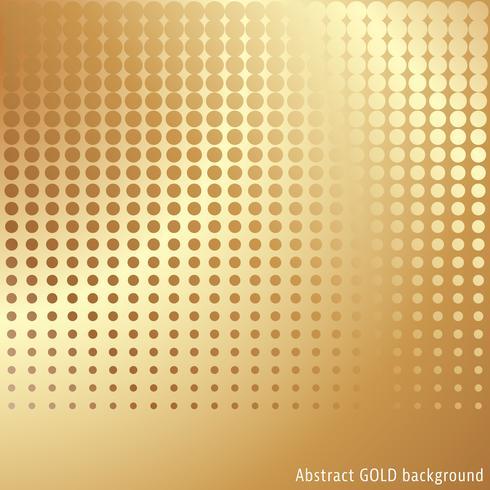 Fondo de semitono de oro vector