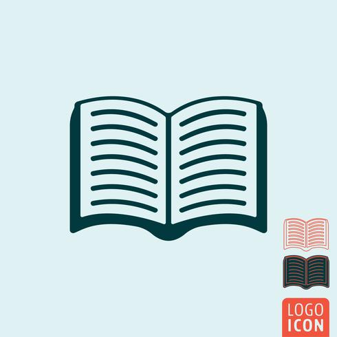 Book icon isolated