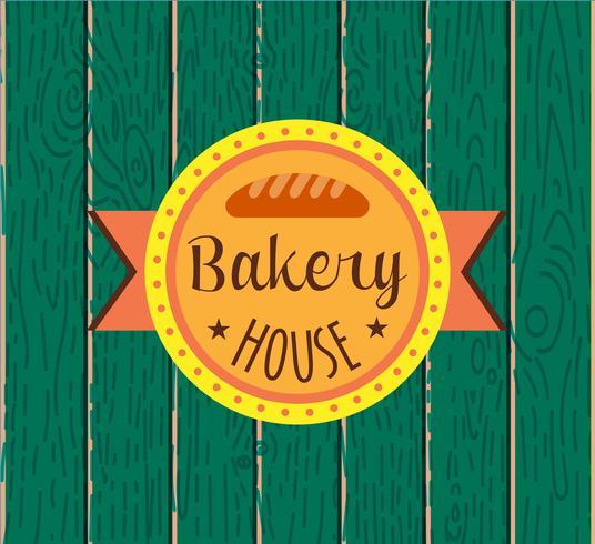 Colección de logo panadería retro vintage. vector