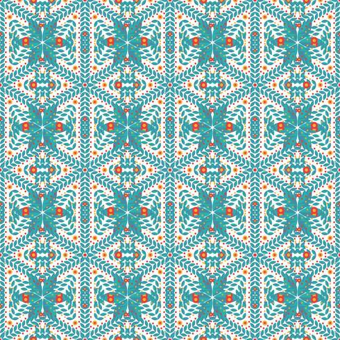 Naadloos patroon van sneeuwvlokken