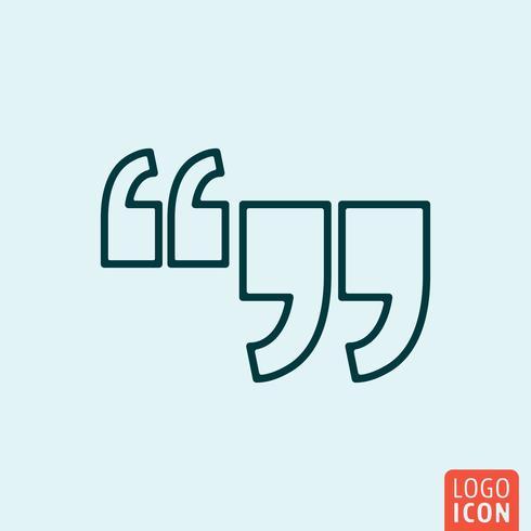 Icon line design vector