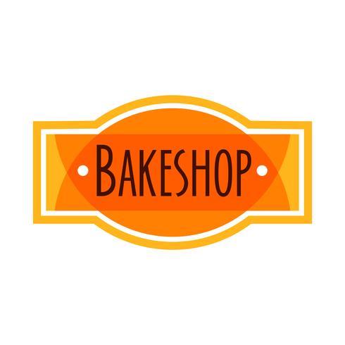 Sammlung des Retro- Bäckereilogos der Weinlese