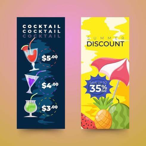 Seasonal summer sale