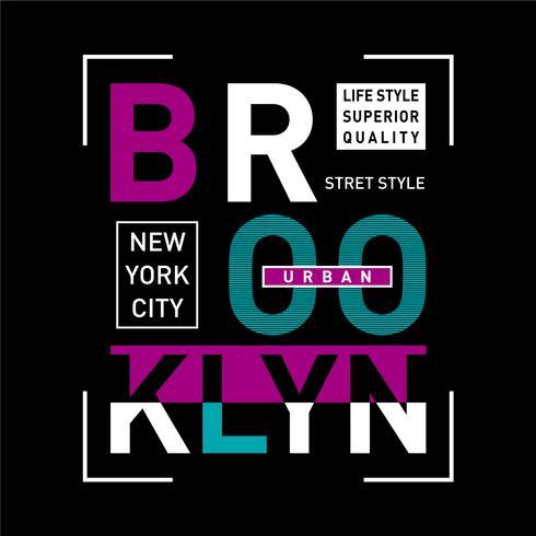 new york city urbain t-shirt design graphique typographie