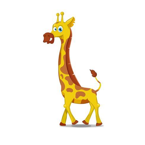 Cartoon giraf illustratie
