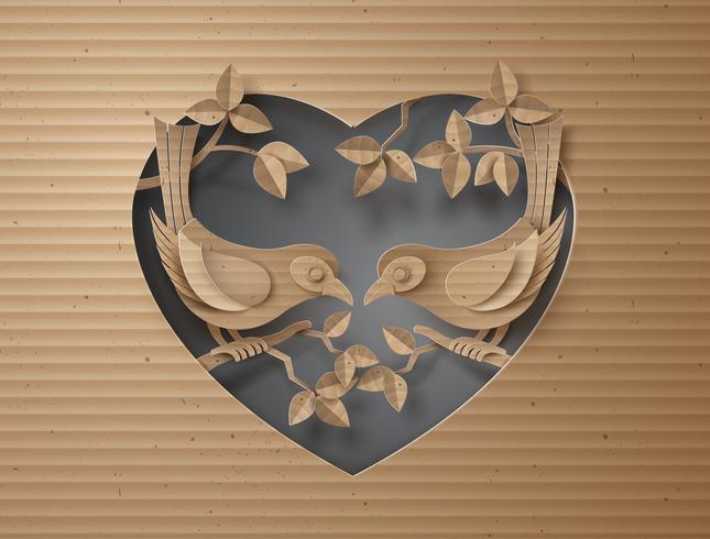 uccello innamorato