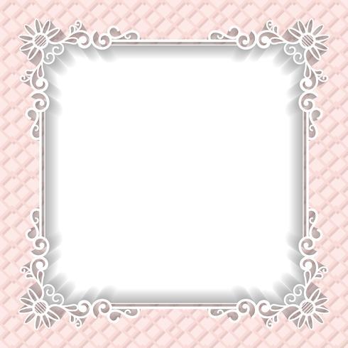 Wedding frame paper