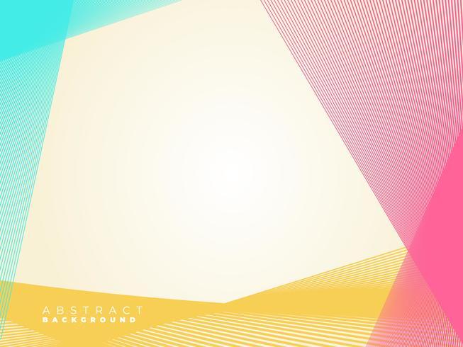 Abstrakt färgglada geometriska linjer bakgrund