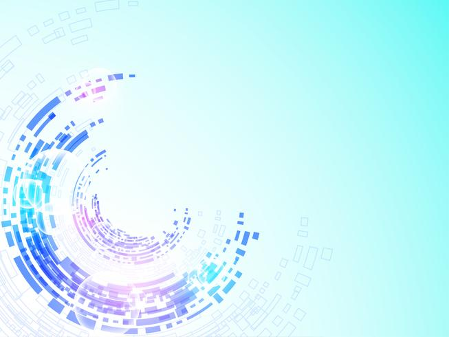 Vector background technology in the concept of digital.
