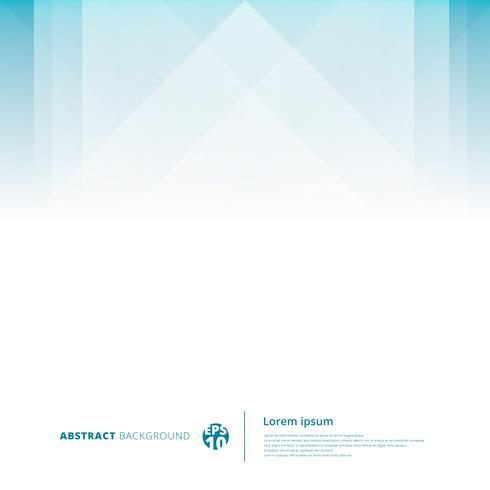 Abstract technology geometric overlap light blue background with copy space.