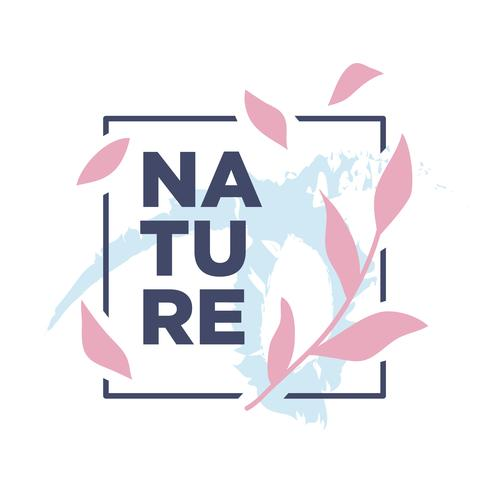 Nature Botanical illustration simple design