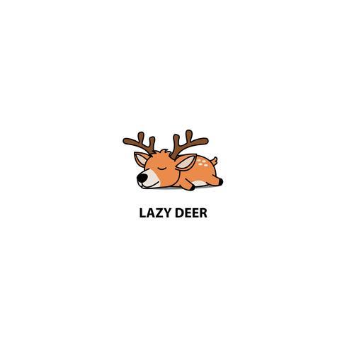 Icona di sonno cervo pigro
