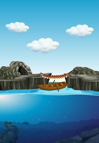 Grotta della natura e fiume sottomarino