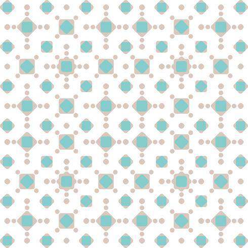 Patrón geométrico abstracto vector
