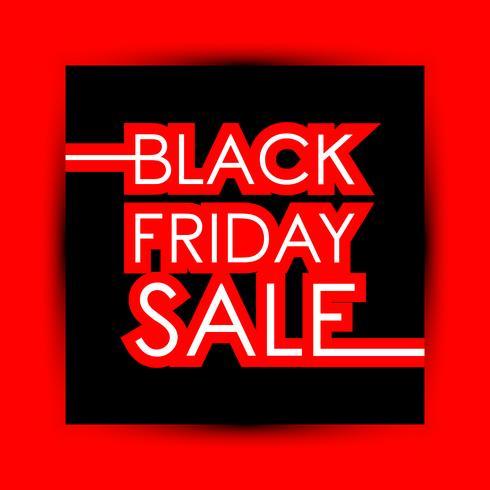 Black Friday-verkoop