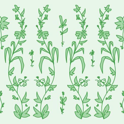 Tuin bloemenpatroon