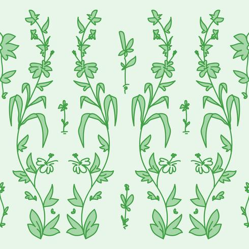 Motif de fleurs de jardin
